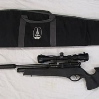 Air rifle - BSA .177 Ultra SE PCP tactical with silencer and scope