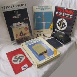 Collection of Third Reich weapons books etc