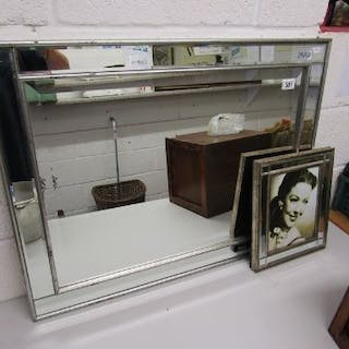 Mirror & framed photo