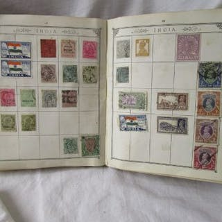 Stamps - Lincoln album & catalogue - QV onward - Commonwealth, USA & world