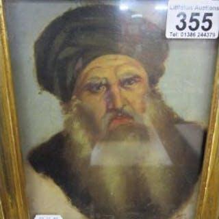 Oil of bearded Russian gentleman
