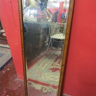 Bevelled glass dressing mirror