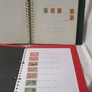 Stamps - Gibraltar - 'Collecta' album & stock book - QV onwards