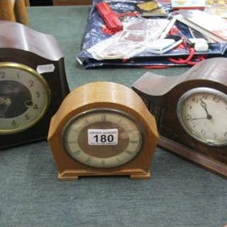 3 mantle clocks