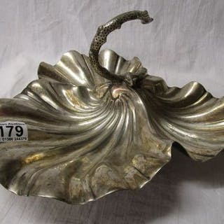 Silver plated entre dish