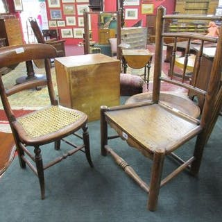 2 early children's chairs