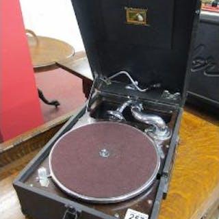 Working HMV gramophone