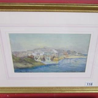 Watercolour - Harbour scene by Catherine Howard