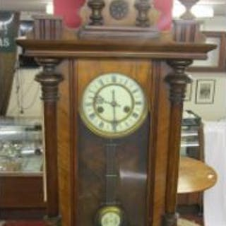 Working Victorian wall clock