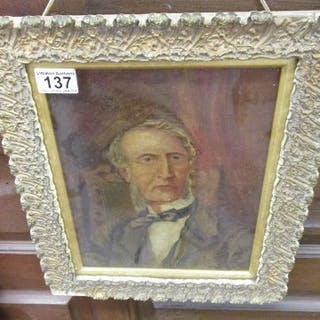 Oil painting - Gentleman - Charles Basset Roe Esq - 1789 to 1872