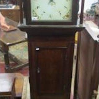 Antique longcase clock - 30 hour movement (H:218cm)