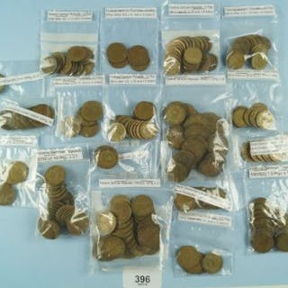 A quantity of 20th century German coins including: Federal, Republic