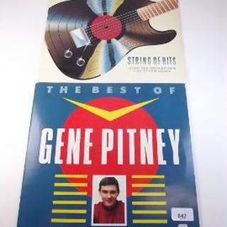 A Gene Pitney LP, signed and 'The Shadows Story of Hits'