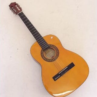 A Stagg classical guitar