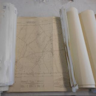 MAPS C. 100 Ordnance Survey Sheets 1960's & 70's, Scale 1:2500, all