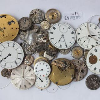 Bag of watch movements