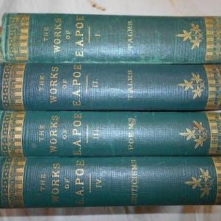 INGRAM, J.H. (ed.) The Works of Edgar Allan Poe 4 vols. 1883, Edinburgh