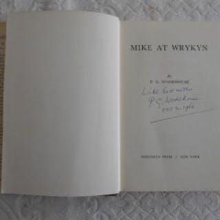 WODEHOUSE, P.G. Mike At Wrykyn 1st.ed. 1953, Meredith Pr. New York