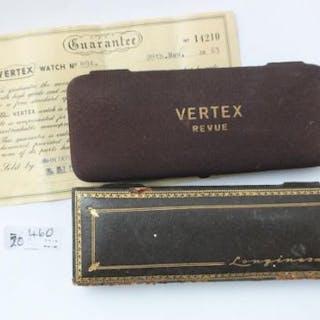 Longines Vertex watch boxes