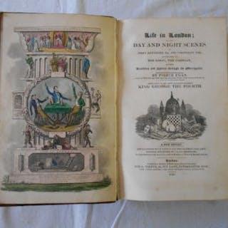 EGAN, P. Life in London new ed. 1830, London, 8vo cont. hf. cf. 36