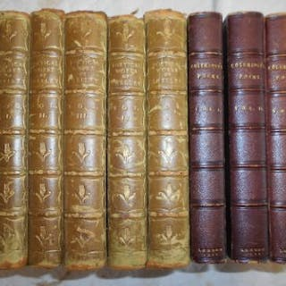 SHELLEY, P. B. The Poetical Works of... Aldine Ed. 1892, 5 vols. cont.