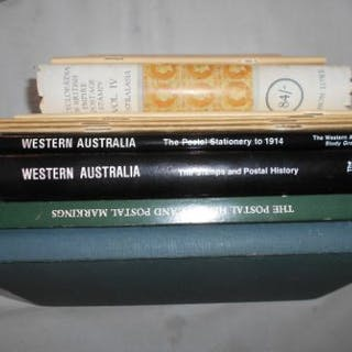 HAMILTON, M. Western Australia The Stamps and Postal History 1st.