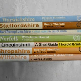 SHELL GUIDES Northamptonshire 1st.ed. 1968, orig. cl. d/w, plus 2