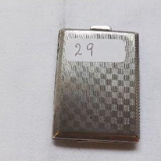 A silver match case – B'ham 1926