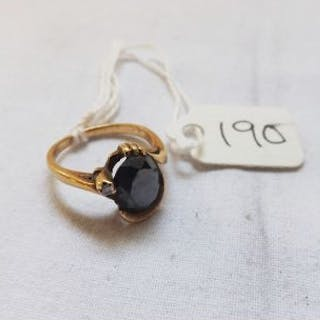 Small 10ct dress ring approx size K