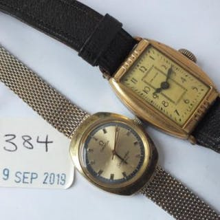 Ladies Omega wrist watch and New Hann ladieswrist watch