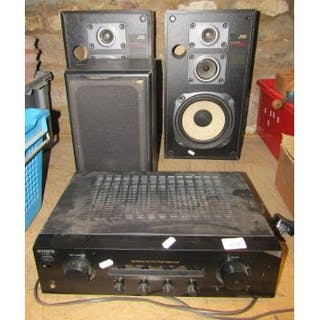 A pair of JVC digital performance SP-X440 speakers, further
