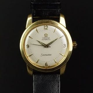 GENTLEMEN'S OMEGA SEAMASTER AUTOMATIC 18ct GOLD WRISTWATCH REF. 780454