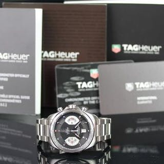 GENTLEMEN'S TAG HEUER GRAND CARRERA CALIBRE 17 AUTOMATIC CHRONOGRAPH