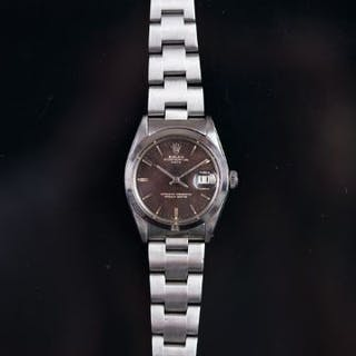 GENTLEMEN'S Rolex OYSTER PERPETUAL DATE WRISTWATCH REF. 1500, circular