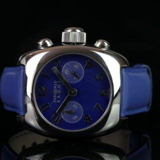GENTLEMEN'S PASQUALE BRUNI WRISTWATCH REF PBU 002 AC, circular blue