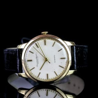 GENTLEMEN'S IWC AUTOMATIC 18CT GOLD WRISTWATCH REF. 1360082, circular