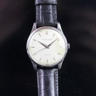 GENTLEMEN'S INTERNATIONAL WATCH CO. IWC, AUTOMATIC WHITE DIAL DRESS