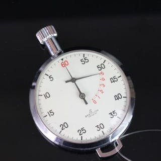 BREITLING YACHTING STOPWATCH, white dial with arabic numbers, 55mm