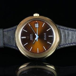 RARE VINTAGE OMEGA DE VILLE DYNAMIC AUTOMATIC, sunburst bronze dial