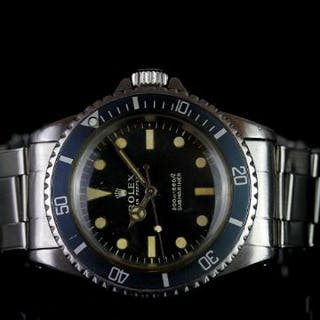 GENTLEMENS ROLEX OYSTER PERPETUAL SUBMARINER 'METERS FIRST' WRISTWATCH