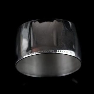 Tiffany & Co napkin ring, sterling silver