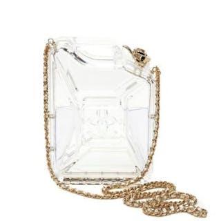 d8c2df33ee6 Chanel Clear Plexiglass Dubai by Night Gas Can Minaudiere.