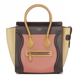 28ecd4513593 Céline Terracotta Smooth   Elephant Calfskin Leather... – Current ...