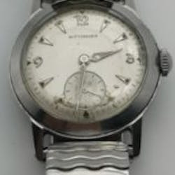 7a991f6a0cc A vintage Swiss Wittnauer men s wristwatch with sub dial.