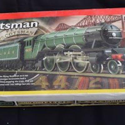 Hornby Flying Scotsman Boxed Train Set Hornby train set