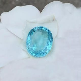 900993d30 GIA Certified 16.33 ct · GIA Certified 16.33 ct. Neon Blue Paraiba  Tourmaline ...