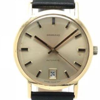 9ct Gold Vintage Mens Garrard Watch