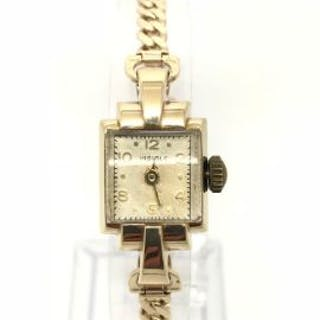 9ct Gold Art Deco Style Vintage Ladies Watch