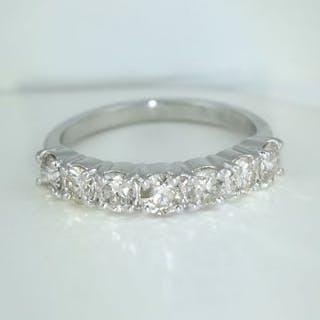 IGI Certified 14 K / 585 White Gold Solitaire Diamond...