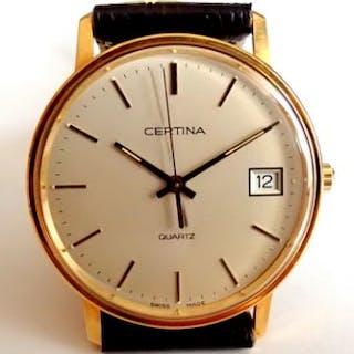 Certina Vintage Classic 18k Solid Gold  Certina Solid 14K...